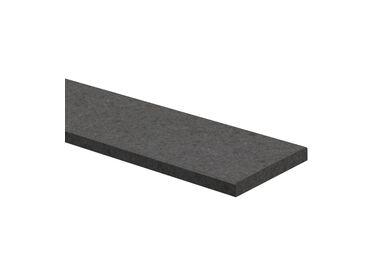 Stofdorpel Kunststeen Antraciet 20x90x1000mm