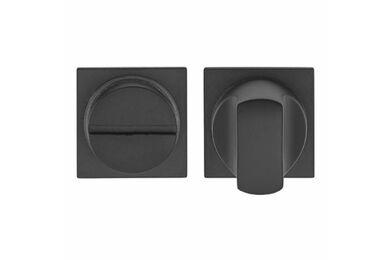 SKANTRAE Toiletgarnituur Vierkant Fremont Mat Zwart