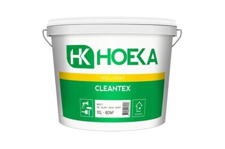 hoeka cleantex latex basis p wit 10ltr