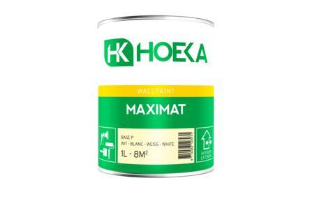 hoeka maximat latex basis p mat wit 1ltr