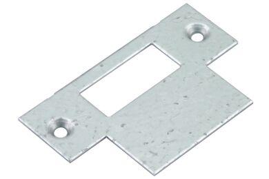 NEMEF Sluitplaat P1255/12 Loopslot Serie 1200 En 1300 Stompedeur Links/Rechts Verzinkt