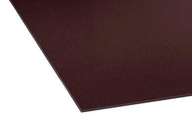ISICOMPACT Gevelplaat Met Enkelzijdig UV-Filter 0182 Donkerbruin Enkelzijdig FSC 3050x1250x8mm