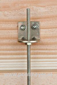 stormankerset metaal (set van 4 stuks) inclusief bouten