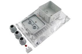kabelgietmof met giethars 11-17mm