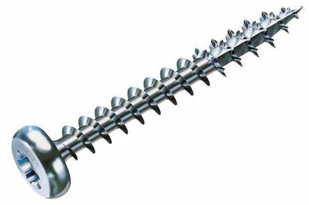 Spax Spaanplaatschroef Cilinderkop Torx Verzinkt 200st 4x16mm