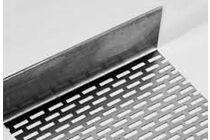 eternit aluminium afsluitprofiel 1zij geperforeerd 30x70x2500