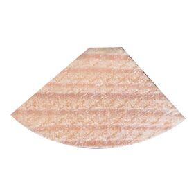grenen kwartrond wit gegrond fsc mix 70% 16x16x2700
