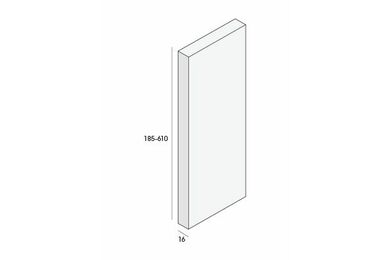 UNIPANEL Bouwpaneel Wit 2900x610x16mm