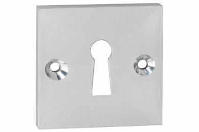 IMPRESSO Sleutel Rozet Vierkant Modulair Aluminium
