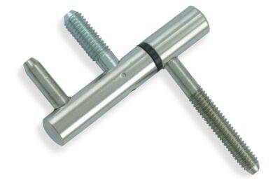 AXA Inboorpaumelle Vernikkeld 75x12mm