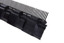 ubbink airtec combiprofiel met vogelschroot zwart 125mm