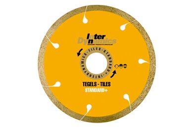 INTERDYNAMICS Diamantblad Voor Tegels 180mm