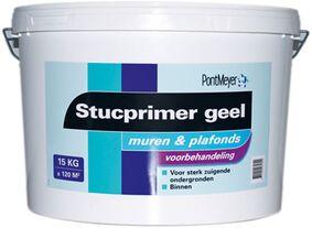 pm stucprimer binnen geel emmer 15kg