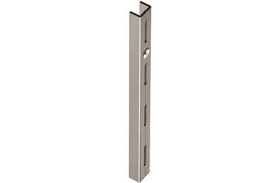 Wandrail Staal Enkel Wit 1500mm