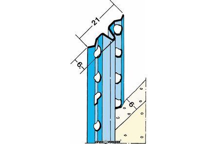 afreiprofielgeleider 1106 verzinkt staal 2600mm