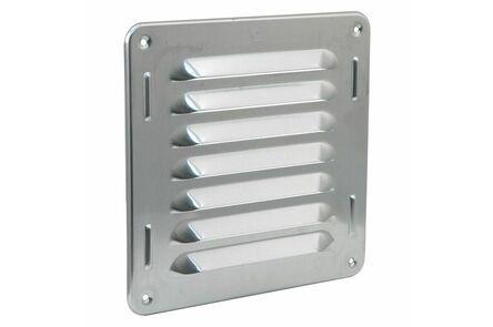 schoepenrooster aluminium 300x90mm rvs-kleur
