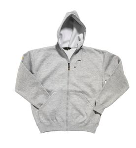 workzone hooded sweater grijs maat xxl