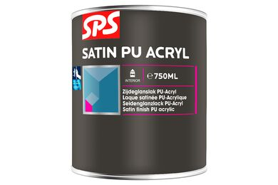 SPS Acryl Lakverf Zijdeglans 9010 Gebroken Wit 750ML