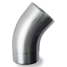 rheinzink bocht 40° 80mm mof/spie- eind walsblank