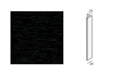 KERALIT Eindprofiel 10 mm Monumentengroen Classic Nerf