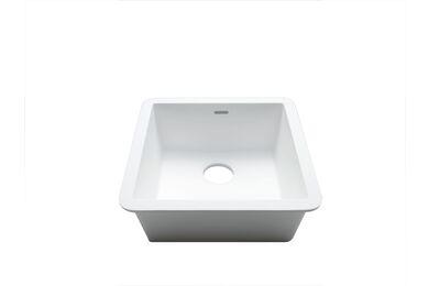Krion Solid Surface Spoelbak C604 E Snow White  400x400x200mm