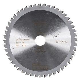 dewalt cirkelzaagblad 48tands dt4320-qz 216/30