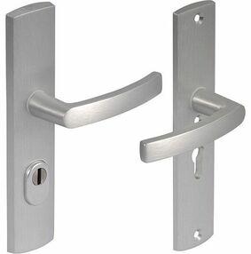 axa deurbeslag kruk/kruk 6665-10-11 72mm + kerntrekbeveiliging skg3