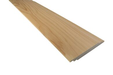 Western Red Cedar Dubbele Sponning Model JG53 18x118x5500mm PEFC