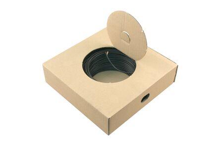 installatiedraad vd 1,5mm² zwart