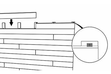 TRESPA Pura Montageclips + RVS Schroeven 3,5x30mm