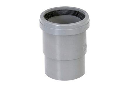 pvc lijm-expansiestuk met rubberring
