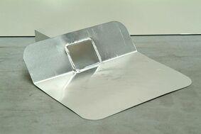 kiezelbak 45 graden aluminium 60x80x200mm