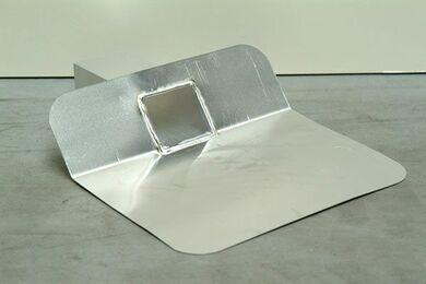 MAWIPEX Kiezelbak 45° Aluminium 60x80x200mm