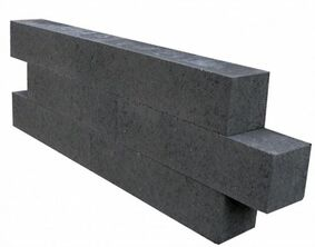 wallblock new  antraciet 15x15x30cm