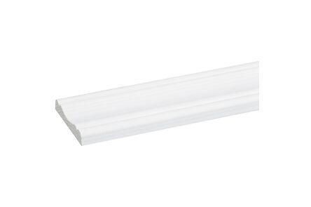 grenen decorlijst wit gegrond fsc mix 70% 8x45x2700
