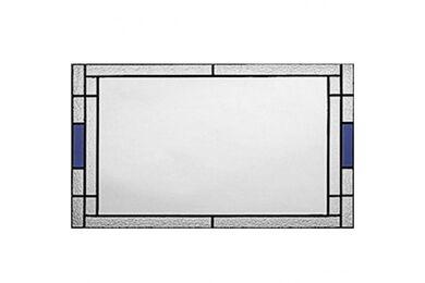WEEKAMP Glas In Lood 2 Glasset T.B.V. WK6533 En WK6582 880x2115mm