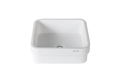 Krion Solid Surface Spoelbak B603 SE Snow White 360x360x150mm