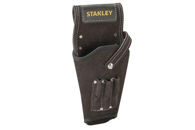 STANLEY Boormachinehouder STST1-80118 Leder Zwart 160x60x320mm