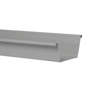 bakgoot 180x4000mm grijs