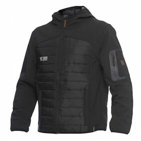 workzone jack explore softshell zwart maat xl