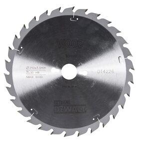 dewalt cirkelzaagblad 30tands dt4226-qz 250/30