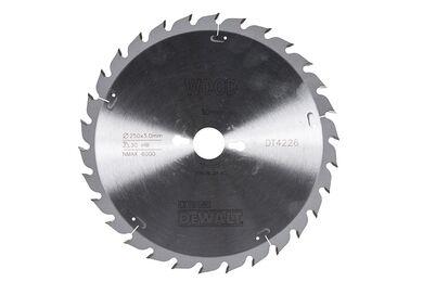 DEWALT Cirkelzaagblad DT4226 30-tands 250/30mm
