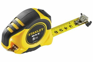 STANLEY Rolmaat STHT0-36117 Magneet Met Karabijnhaak 5000mm