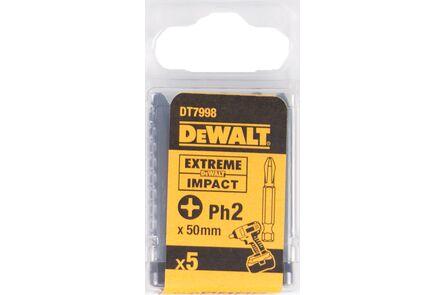 dewalt impact 50mm ph2 dt7398-qz (set van 5 stuks)