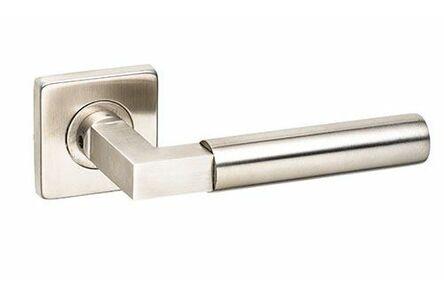 comfidoor deurkruk duo square geborsteld rvs