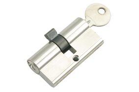 sx profielcilinder messing gelijksluitend 60mm (set van 3 stuks)
