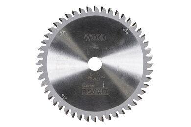 DEWALT Cirkelzaagblad DT4087 48-tands 165/20mm