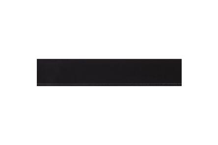 kunststof afdekprof zelfkl zwart 2x30x2600