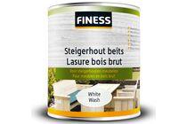 finess steigerhoutbeits binnen/buiten white-wash 750ml