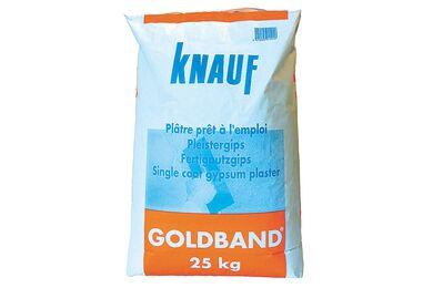 KNAUF Goudband Pleistergips Zak 25kg